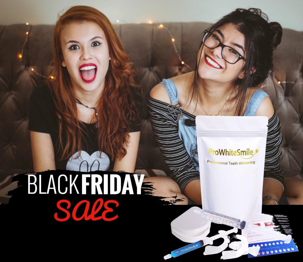 Teeth Whitening Black Friday Sale now on - See Coupons Inside