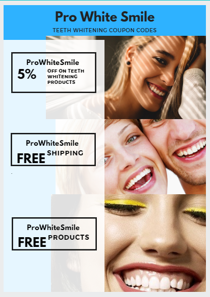 Teeth Whitening Coupon Codes UK