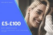 Teeth Whitening Gift Certificates