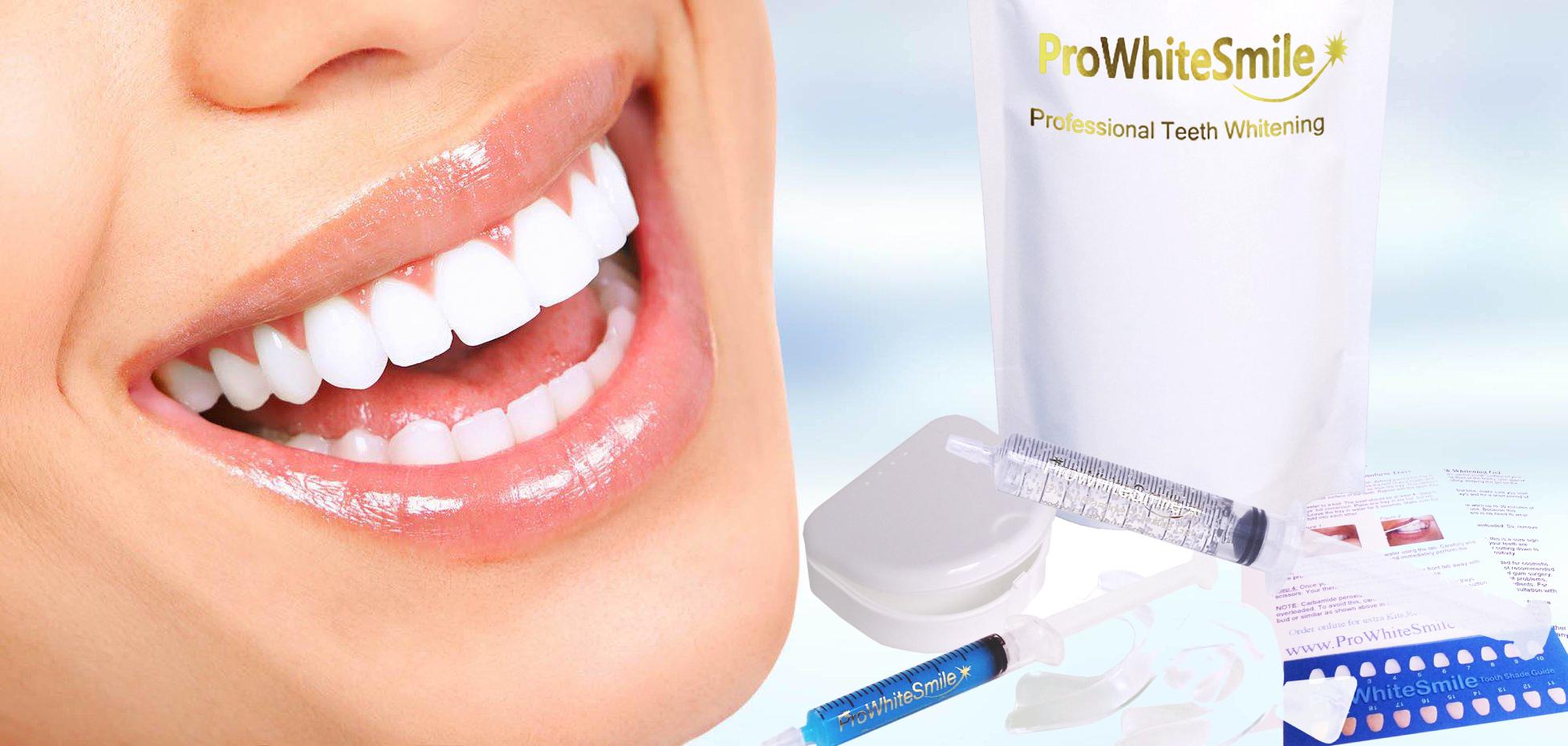 Prowhitesmile Best Teeth Whitening Gel Kits Tooth Bleaching Gel